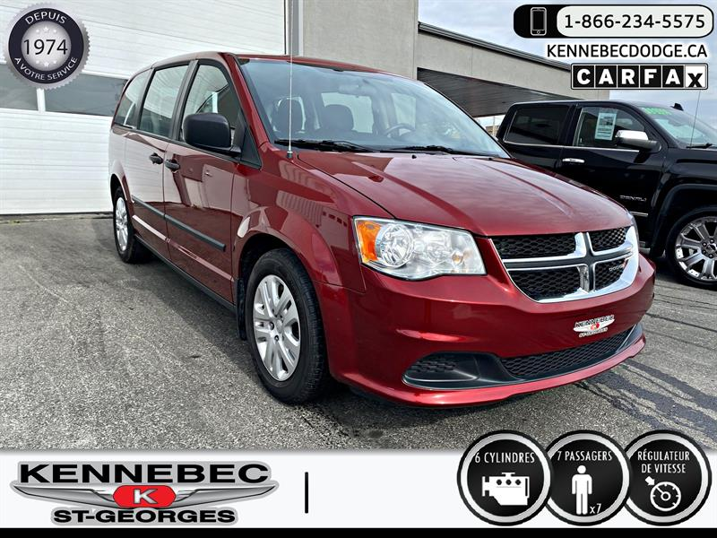 Dodge Grand Caravan 2016 4dr Wgn Canada Value Package #05340