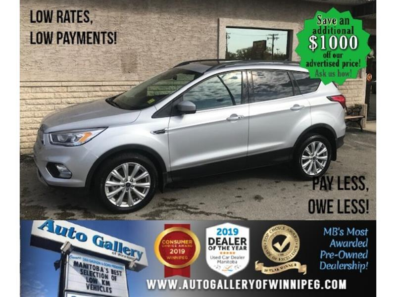 2019 Ford Escape SEL* 4WD/Htd seats/.B.tooth #24572