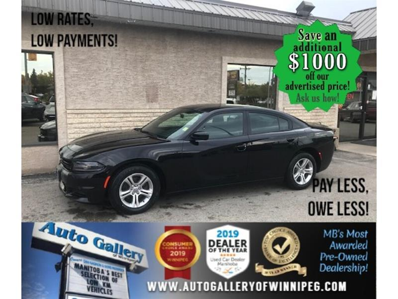 2019 Dodge Charger SXT* B.cam/B.tooth/V6 #24584