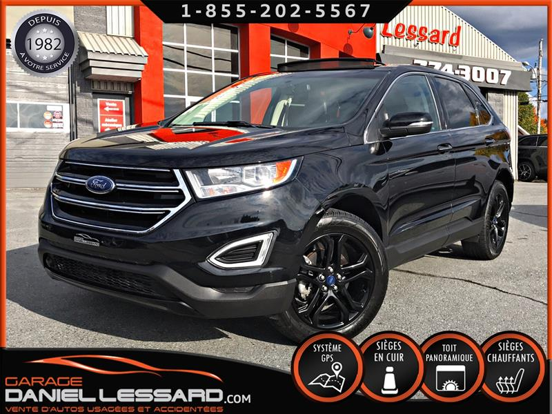 Ford EDGE 2018 17263KM, TITANIUM BLACK ÉDITION, TRACTION AVANT #89787