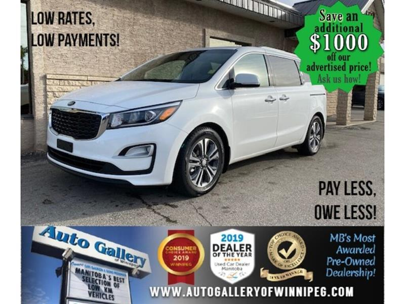 2019 Kia Sedona SX* R air/Htd seats/Roof/8 Pass #24604