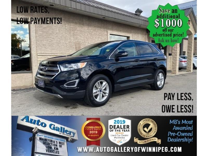 2017 Ford EDGE SEL* Awd/B. cam/B.tooth/ #24579