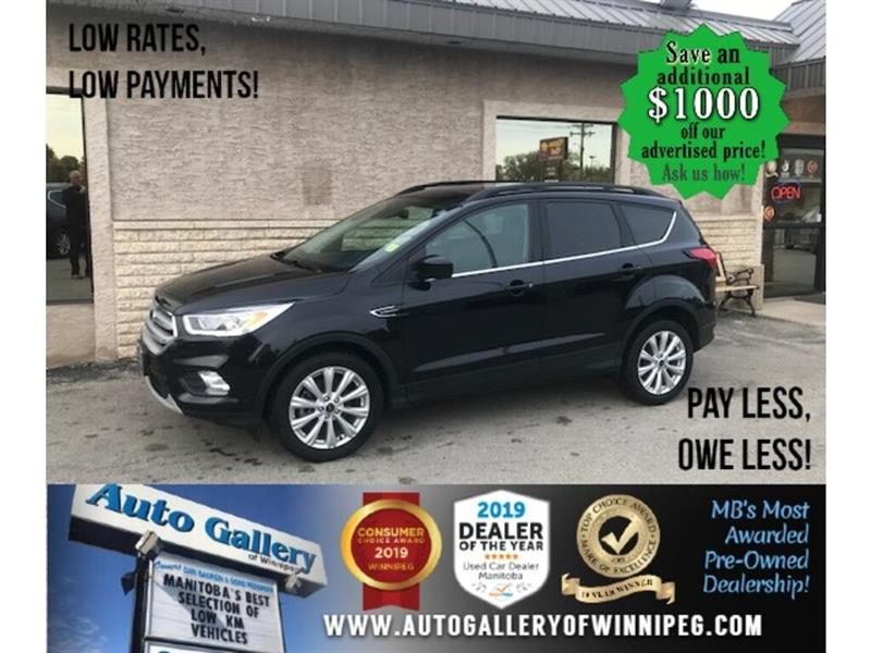 2019 Ford Escape SEL*4wd/Htd lthr/B.cam/Roof #24606