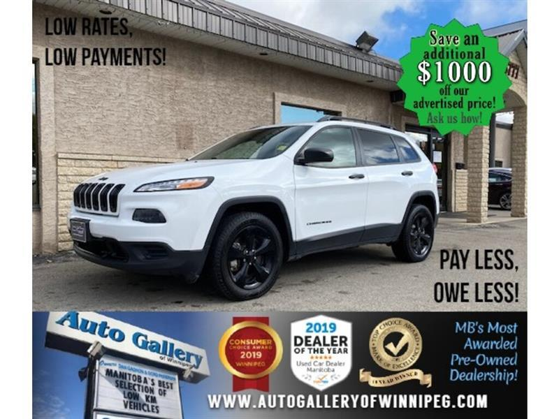 2016 Jeep Cherokee North* 4WD/Htd seats/B.cam/B.tooth #24471a