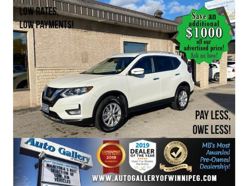2019 Nissan Rogue SV* Awd/B.cam/B.tooth/Htd seats #24509