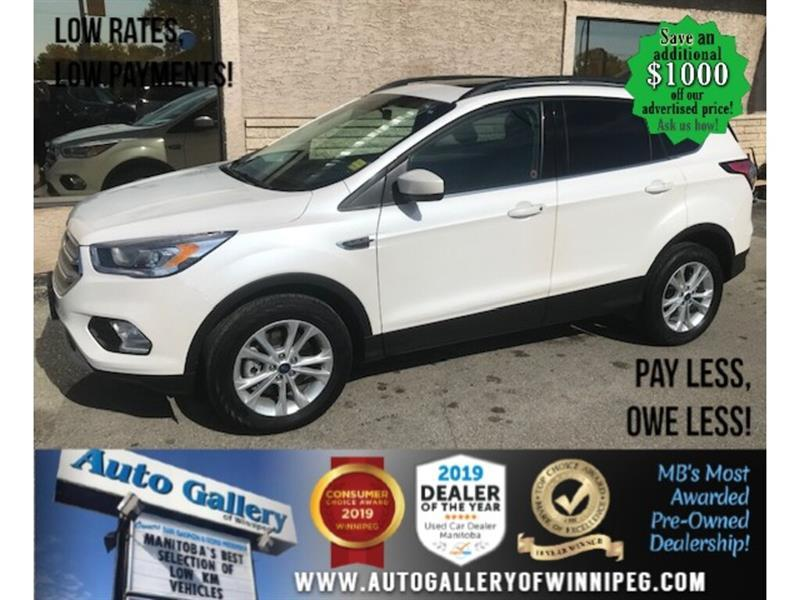 2018 Ford Escape SEL* LOW KMS/AWD/Sunroof/Navigation/HEATED SEATS #24605