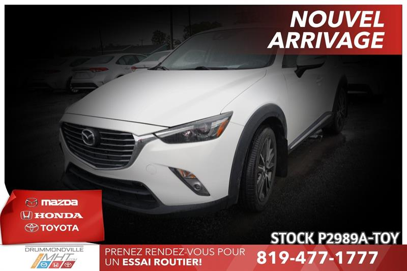 2016 Mazda  CX-3 GT| INTÉGRALE| MAGS 18