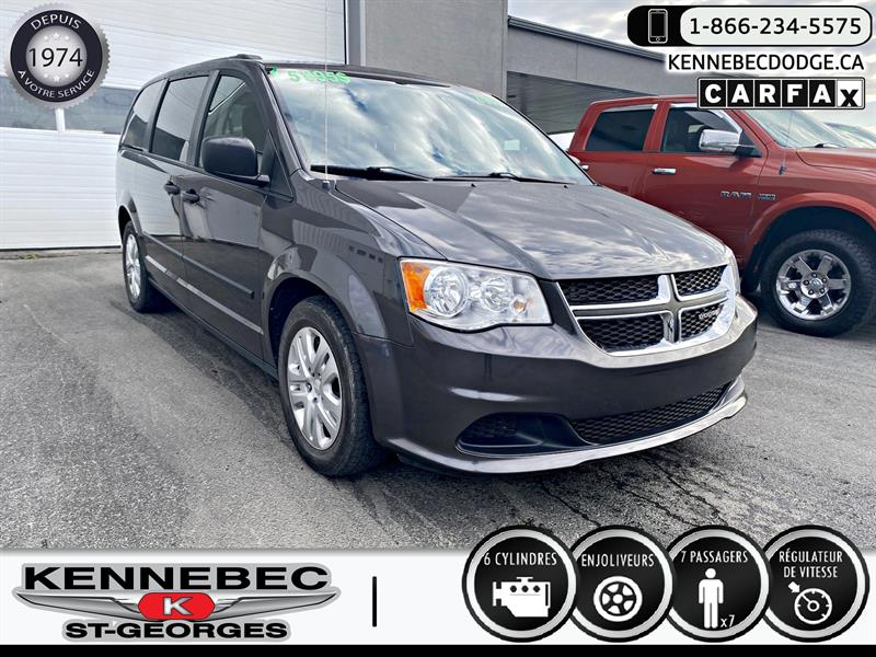 Dodge Grand Caravan 2016 4dr Wgn Canada Value Package #40552A