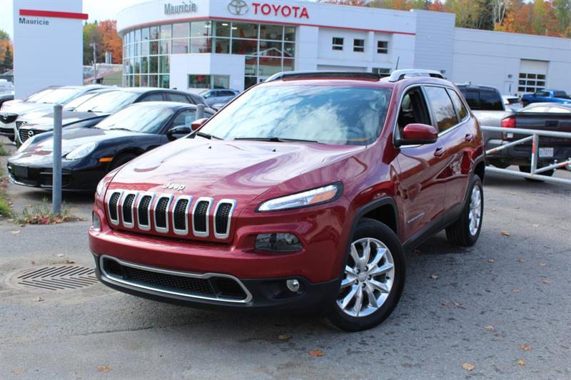 2015 Jeep  Cherokee 4 RM, 4 portes, Limited