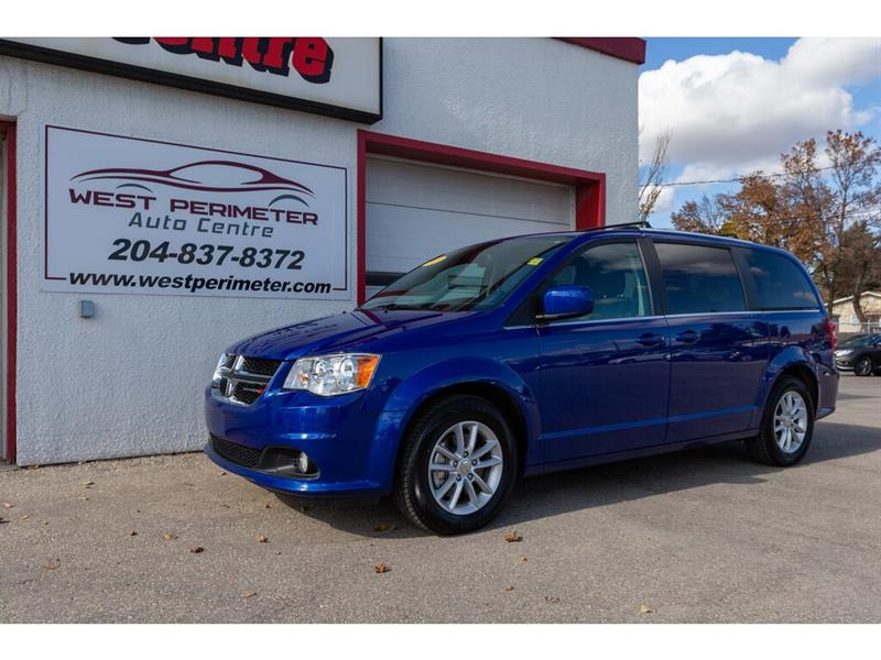 2019 Dodge Grand Caravan SXT Premium Plus Nav*Pwr Sliding Doors*Pwr Liftgat #5800