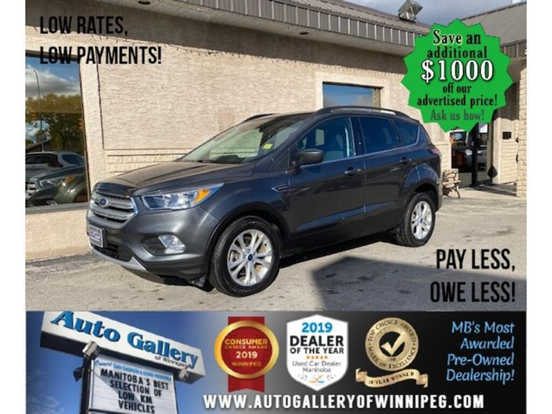 2018 Ford Escape SE* LOW KMS/AWD/Bluetooth//HEATED SEATS #24600