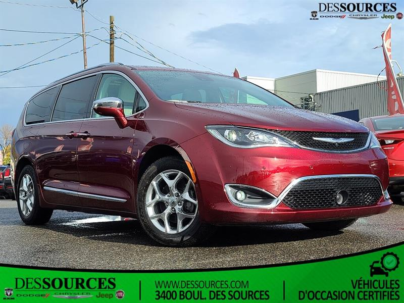 Chrysler Pacifica Limited   Navigation   7 passa 2017