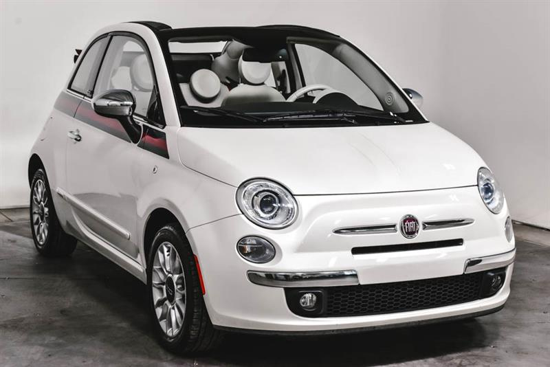 Fiat 500 LOUNGE  CABRIOLET  A/C MAGS 2015