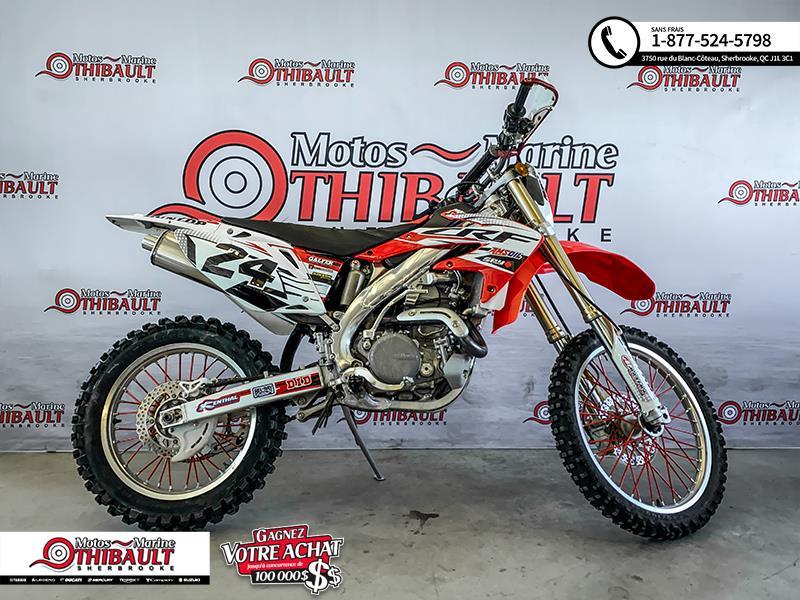 Honda CRF450X 2012