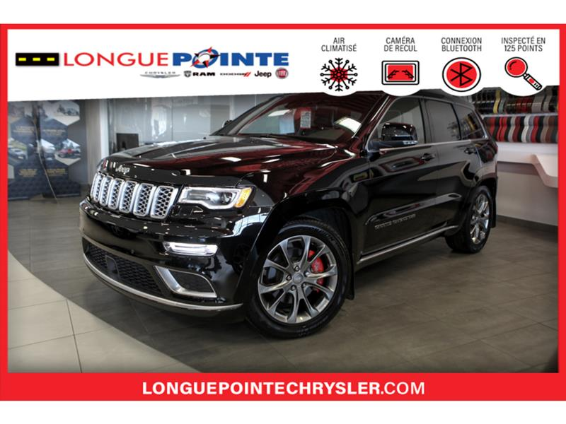 Jeep Grand Cherokee Summit 4x4- TOUT EQUIPER AVEC  2020