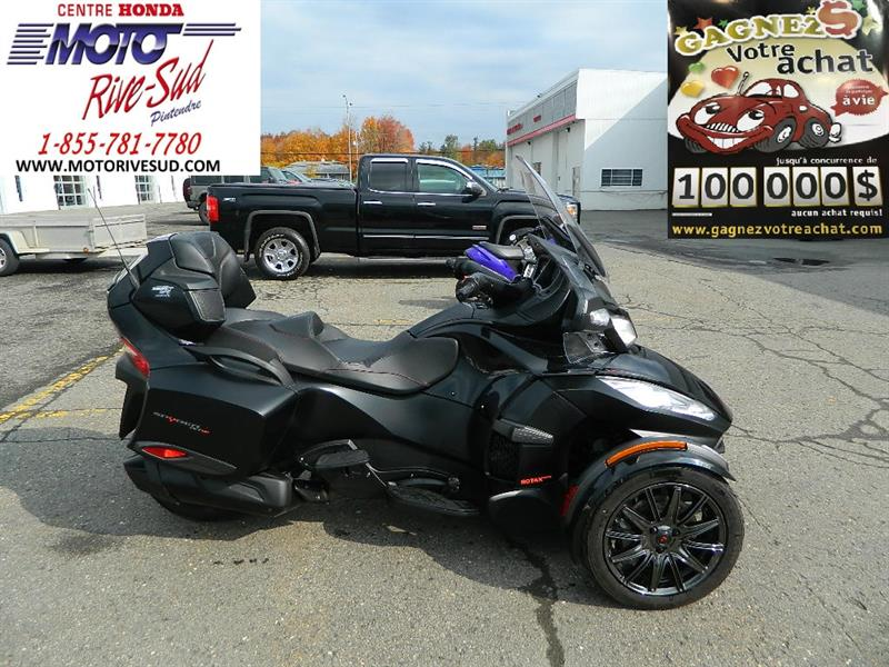 Can-am Spyder RT-S 2016 TROIS ROUES #M3499