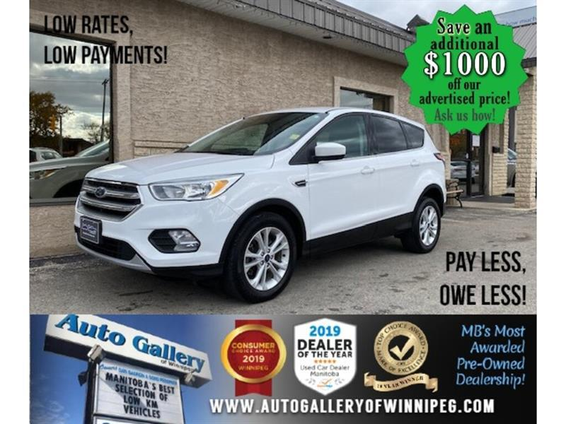 2017 Ford Escape SE* 4wd/B.cam/Htd seats #24631