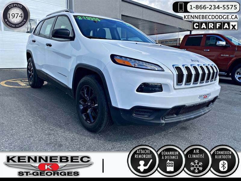 Jeep Cherokee 2017 4WD 4dr Sport #40432A