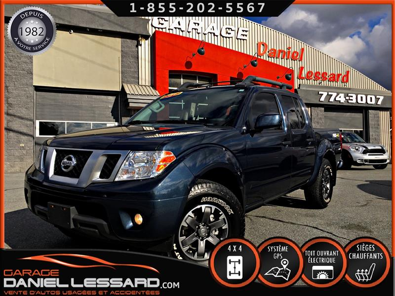 Nissan Frontier 2019 PRO-4X, CREW CAB, 4 X 4, GPS, MAG 16 ET + #90488