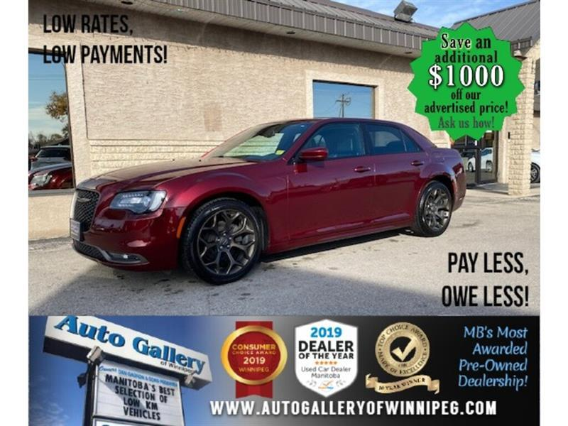 2019 Chrysler 300 300S* LOW KM/NAV/Heated Seats/Sunroof/REMOTE START #24455