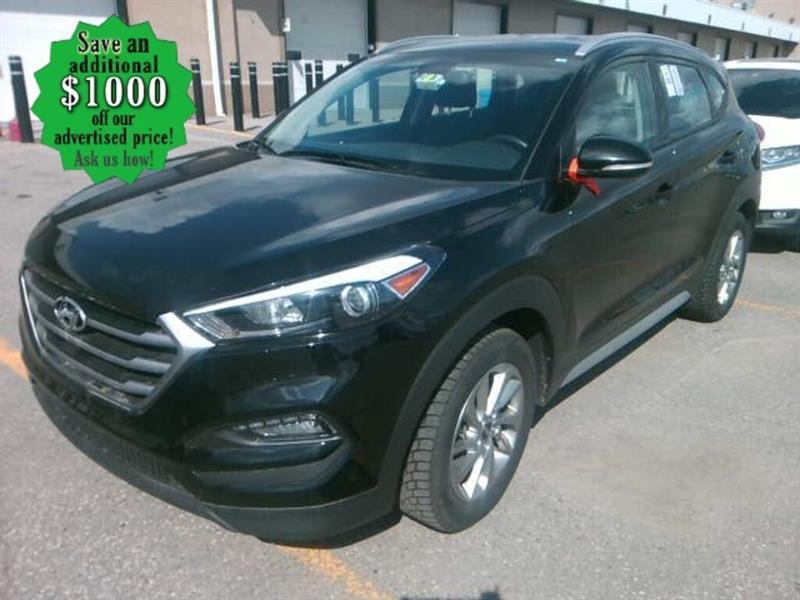 2018 Hyundai Tucson Premium* Awd/Htd seats/B.cam #24629