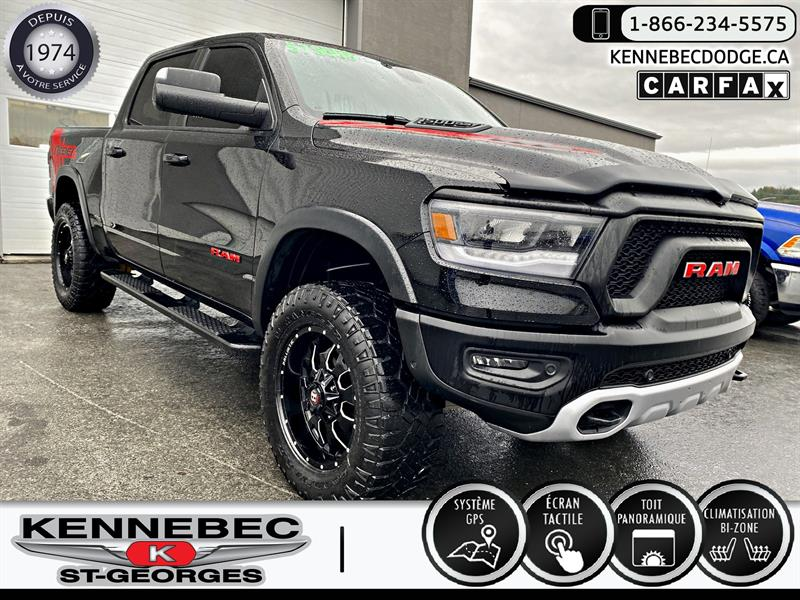 Ram 1500 2019 Rebel 4x4 Crew Cab 5''7 Box #05355