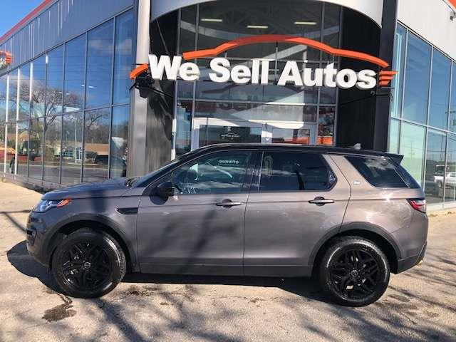 2016 Land Rover Discovery Sport HSE LUXURY #16LD08270