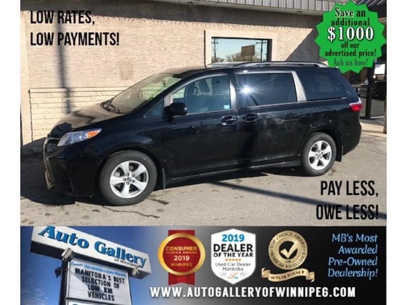 2020 Toyota Sienna LE* 8 PASSENGER/Heated Seats/ POWER SLIDING DOORS #24615