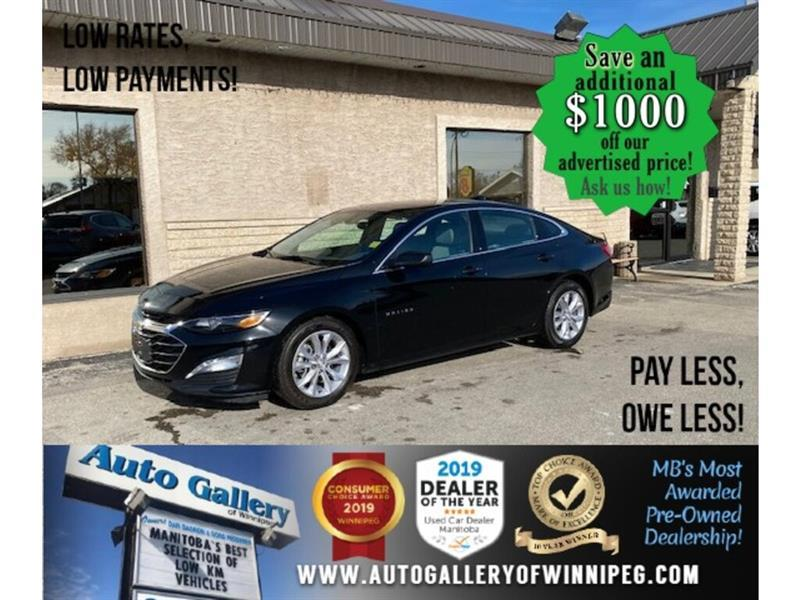 2019 Chevrolet Malibu LT* Htd seats/Roof/B.cam #24636