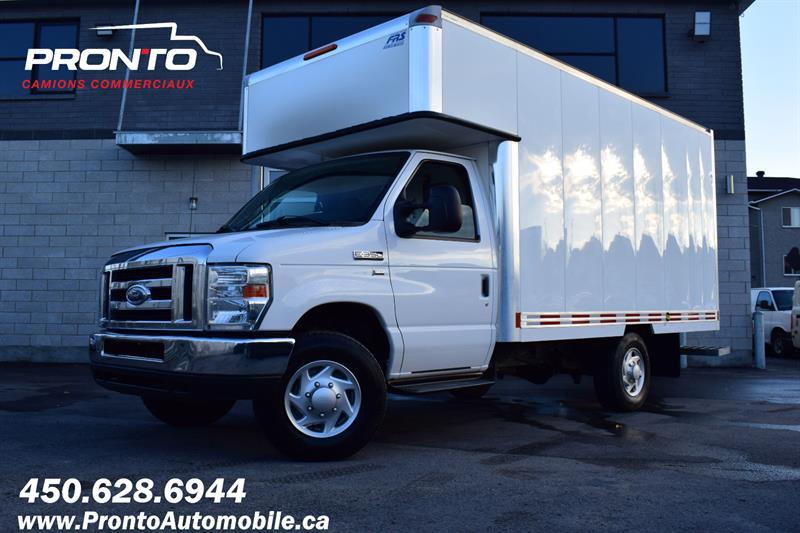 2012 Ford Econoline Commercial Cutaway E-350 CUBE 12 PIEDS DECK ** 5.4L ** #1389
