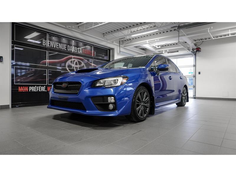 2016 Subaru  WRX Groupe Sport, Automatique, Bas
