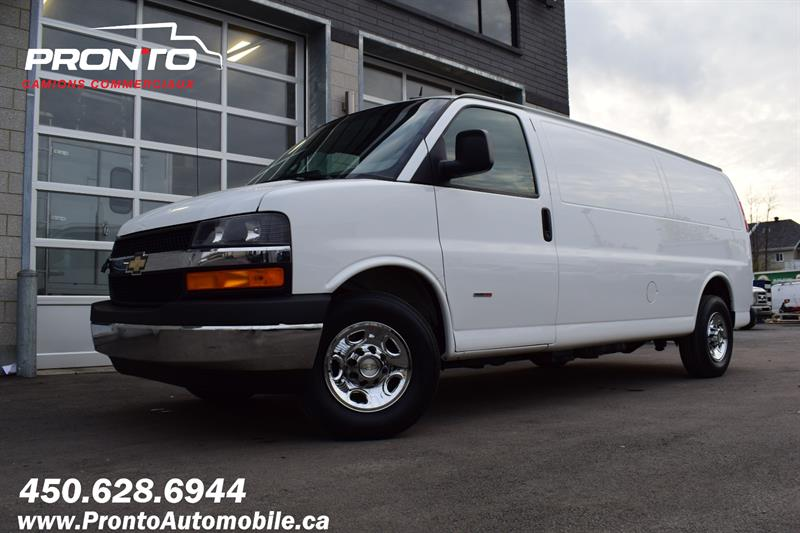 Chevrolet Express Cargo Van 2014 ** DIESEL DURAMAX ** 6.6L ** ALLONGÉ ** #1393