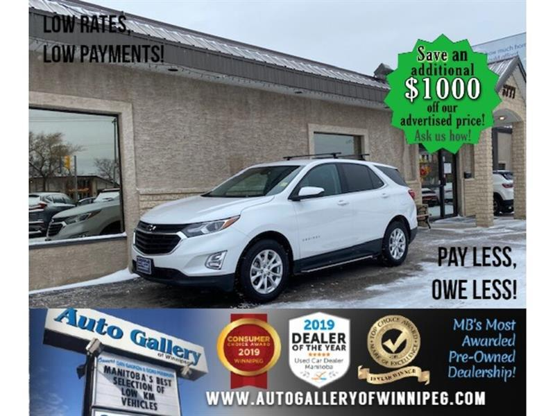 2018 Chevrolet Equinox LT* AWD/Reverse Camera/Bluetooth/REMOTE START #24660
