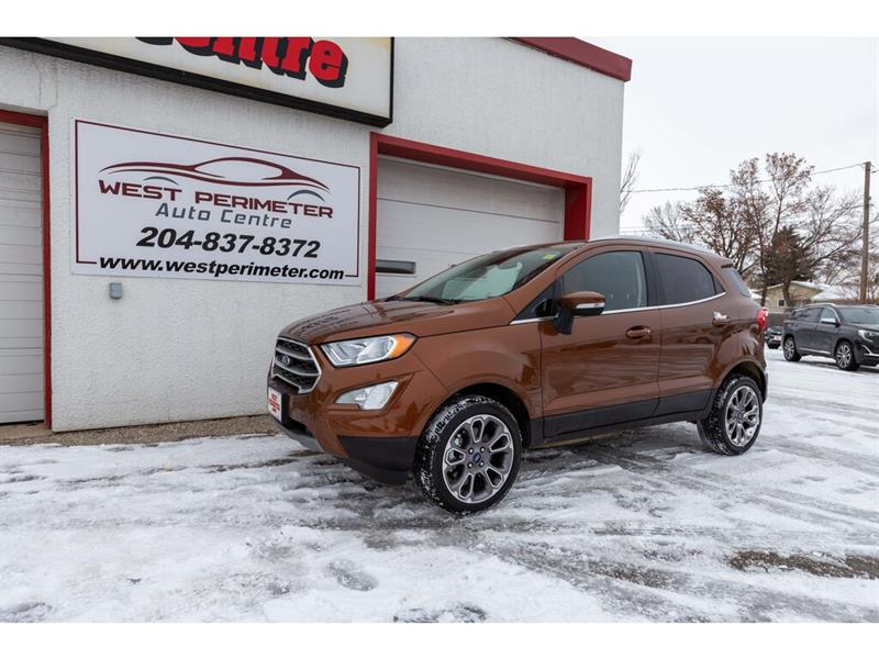 2019 Ford EcoSport Titanium 4WD *SUN ROOF * NAV *BLUETOOTH * B/UP CAM #5807
