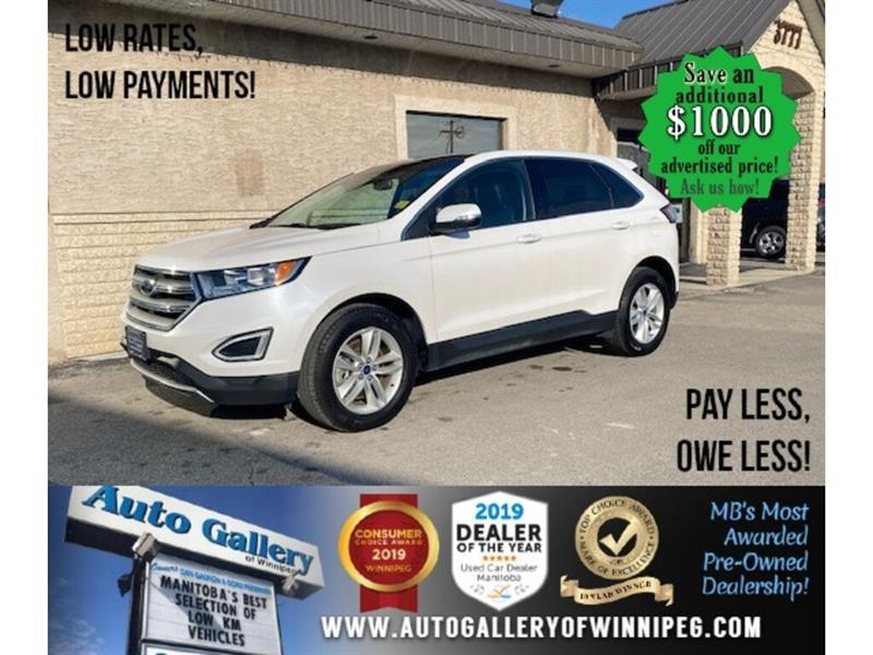 2018 Ford EDGE SEL* AWD/Heated Seats/Sunroof/REMOTE START #24639