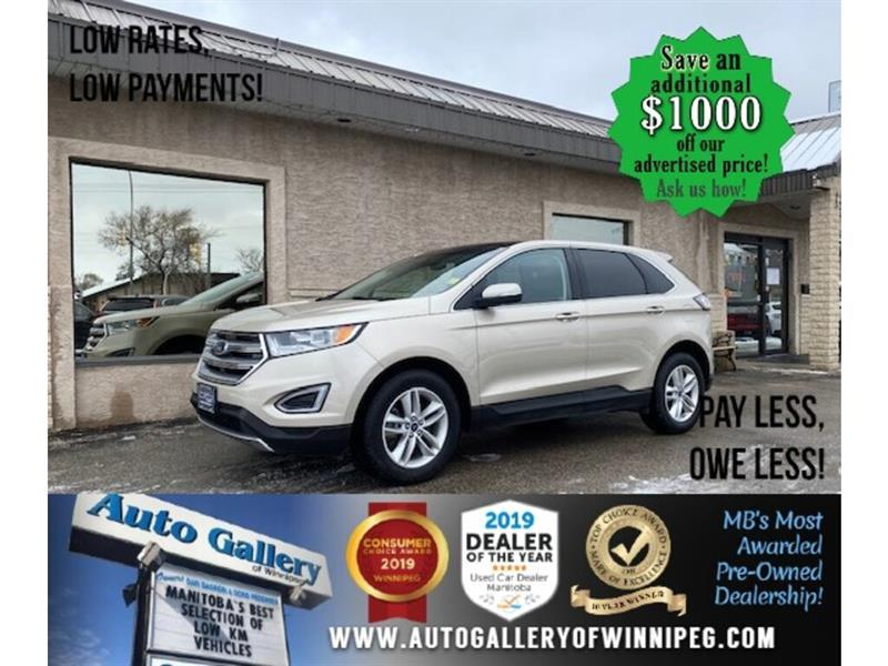 2017 Ford EDGE SEL* Awd/Navi/Htd seats/Pano #24661