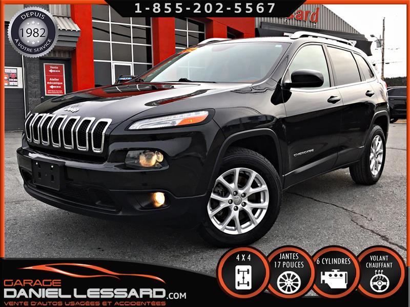 Jeep Cherokee 2014 NORTH, 4WD, ** PAS VGA ** BANC CHAUFFANT, BAS KM #40514