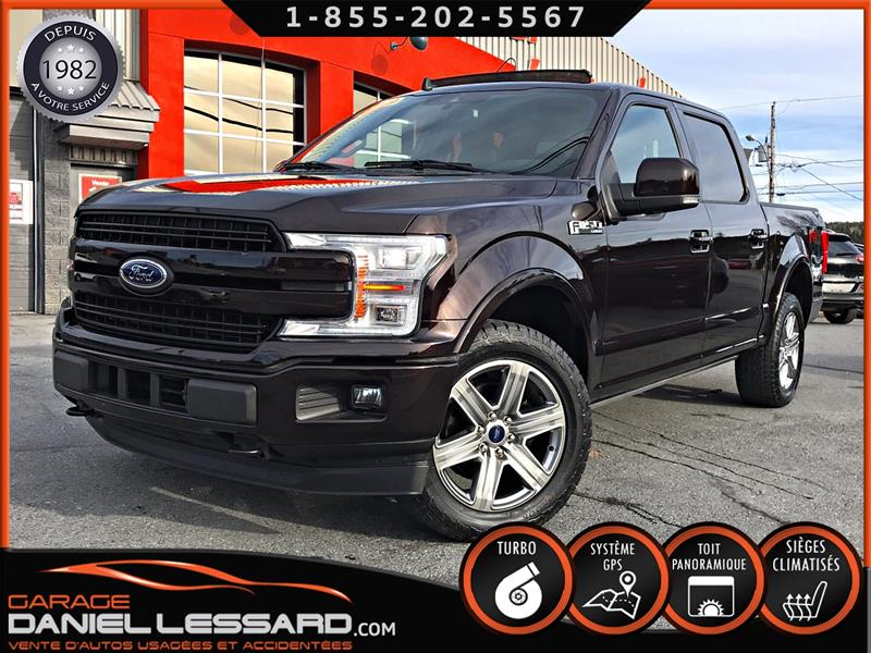 Ford F-150 2019 LARIAT, FULL LOAD, TOIT PANO, MARCHEPIED ÉLEC. #90557