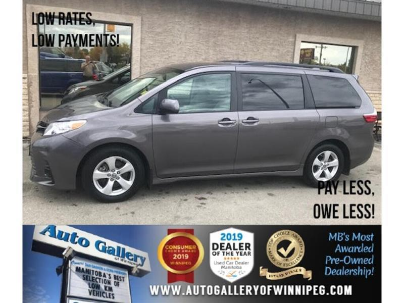 2019 Toyota Sienna LE* 8pass/Htd seats/B.cam #24603