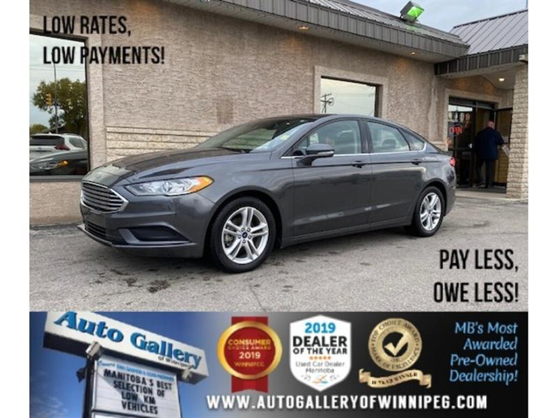 2018 Ford Fusion SE* Automatic/Reverse Camera/Bluetooth/LOW KM's #24611
