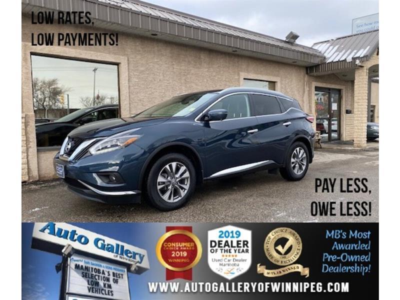 2018 Nissan Murano SL* Awd/Nav/Pano/Htd seats #24626