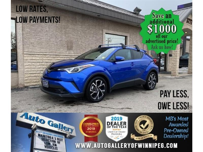 2019 Toyota C-HR Limited* B.cam/Htd seats/B.tooth #24666