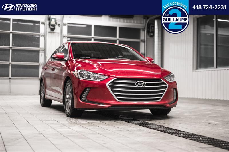 Hyundai Elantra GL chez Rimouski Hyundai 2018