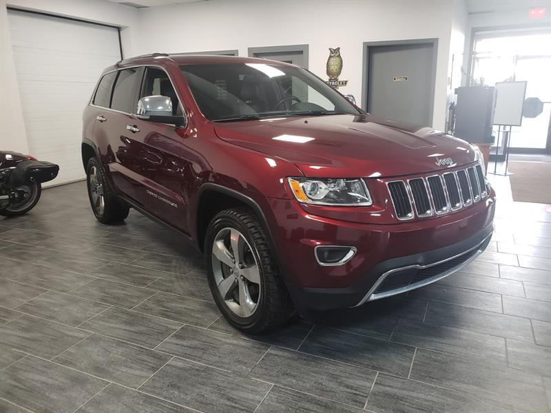 Jeep Grand Cherokee 2016 4WD 4dr Limited TOIT OUVRENT NAVAGATION #GC403677