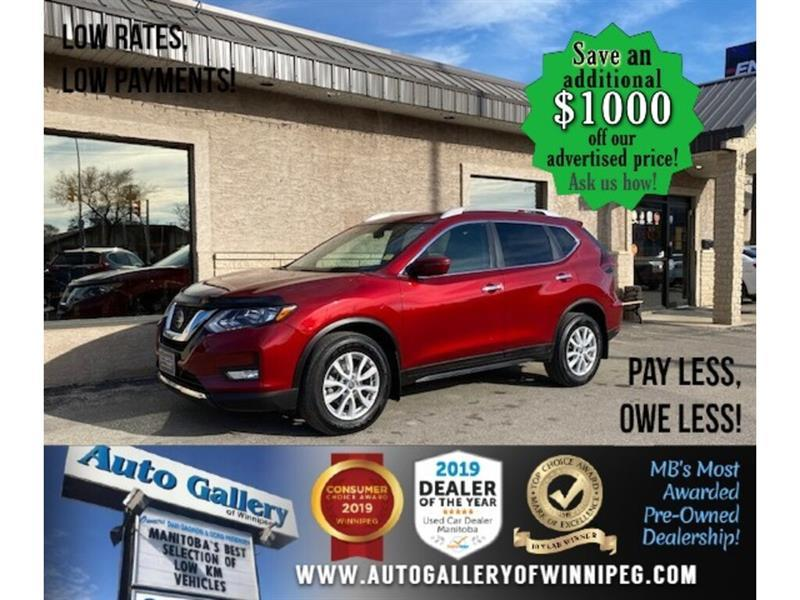 2018 Nissan Rogue SV* AWD/Htd seats/B.tooth/satellite radio #24669