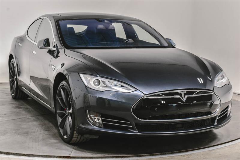 Tesla Model S P85D AWD CUIR TOIT NAV 2014