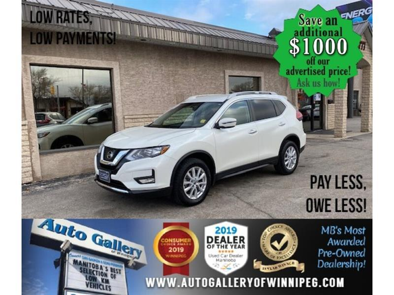 2017 Nissan Rogue SV* AWD/B.cam/Htd seats/B.tooth #24672