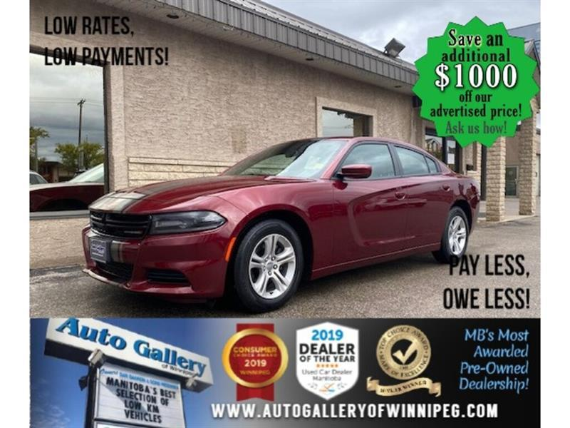 2019 Dodge Charger SXT* B.cam/B.tooth/V6 #24581