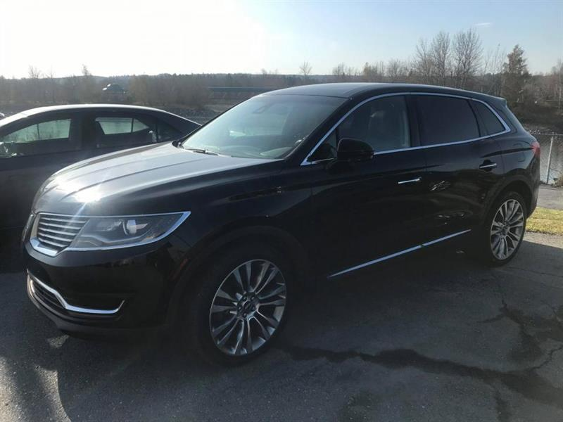2018 Lincoln  MKX RESERVE AWD CUIR TOIT GPS MAGS