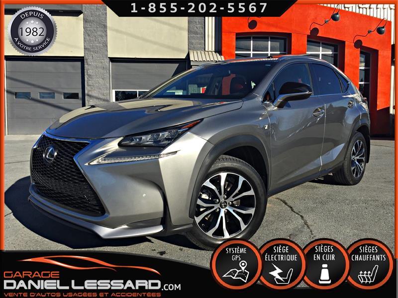 Lexus NX 200t 2016 F SPORT, CUIR ROUGE, TOIT, GPS #60536